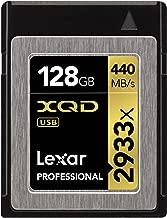 Lexar Professional 2933x 128GB XQD 2.0 Card (Up to 440MB/s Read) w/Free Image Rescue 5 Software - LXQD128CRBNA2933