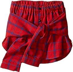 Wrap Shirt Skirt (Little Kids/Big Kids)