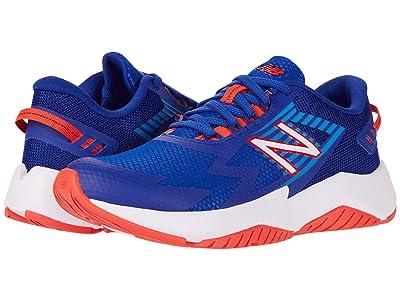 New Balance Kids Rave Run v1 (Little Kid/Big Kid) (Marine Blue/Vision Blue) Boys Shoes