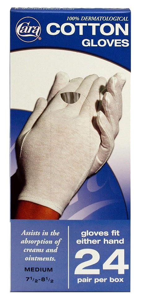 イタリック取り消すマーキーCARA Model 820 Cotton Glove Dispenser Box, Medium, 24 Count by CARA
