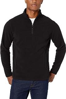 Amazon Essentials Mens Quarter-Zip Polar Fleece Jacket