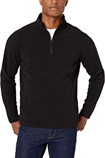 mens black polar fleece jacket