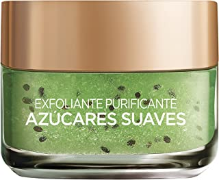 LOréal Paris Dermo Expertise Exfoliante Facial Purificante Azúcares Suaves - 50 ml