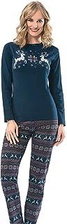 NBB Women's 100% Cotton Christmas Adult Nightgown & Pajamas Set