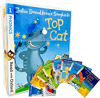 Oxford Reading Tree Read at home Songbirds Phonics Collection Julia Donaldson 36 Books Set Pack RRP: £128.82 (Stage 1,2,3,...