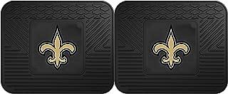 FANMATS 12307 NFL - New Orleans Saints Utility Mat - 2 Piece