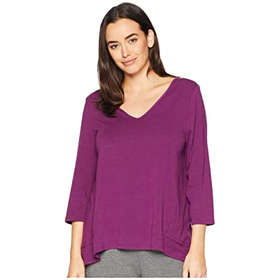 Jockey Above Elbow Sleeve Top (Burgundy) Women