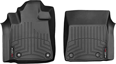WeatherTech Custom Fit FloorLiner for Toyota Tundra -1st Row (Black)