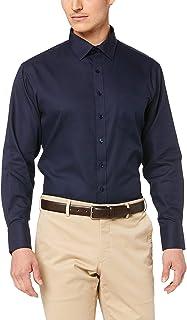 Van Heusen Men's Euro Tailored Fit Shirt Self Stripe