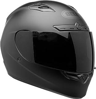 4883cbda Bell Qualifier DLX Blackout Street Motorcycle Helmet (Blackout Matte Black,  Large)
