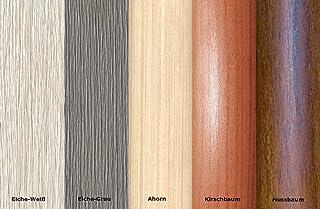 Perfil de transición de 16,66 €/m, perfil de adaptación, perfil de compensación 40 mm – Decoración de madera: cerezo (C-01)
