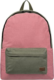 Roxy Womens Roxy Sugar Baby Canvas Colorblock 16L - Small Backpack - Women Burnt Olive One Size