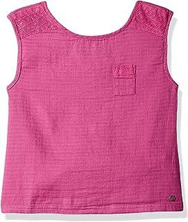 Roxy Girls ERGWT03025 Raise It Up Tank Top Short Sleeve Blouse