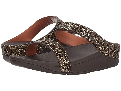 FitFlop Quartz Sandals BlackGold Fino FitFlop Quartz Sandals Fino q4vqSWTB