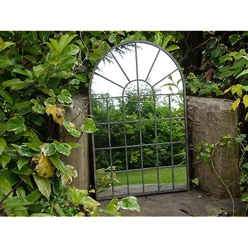 Garden Wall Mirror Amazon Co Uk