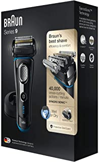 Braun Series 9 9240s Electric Wet & Dry Foil Shaver With Charging Stand