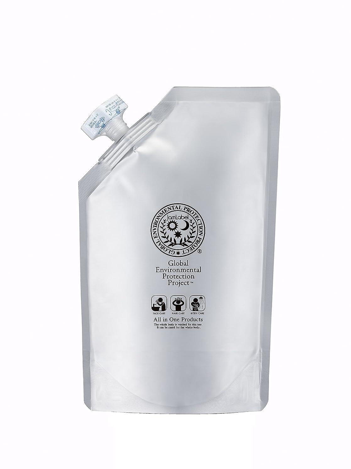 パトロン国肥満Jamlabel 無添加全身用シャンプー ジャムレーベルシャンプー500ml詰替用