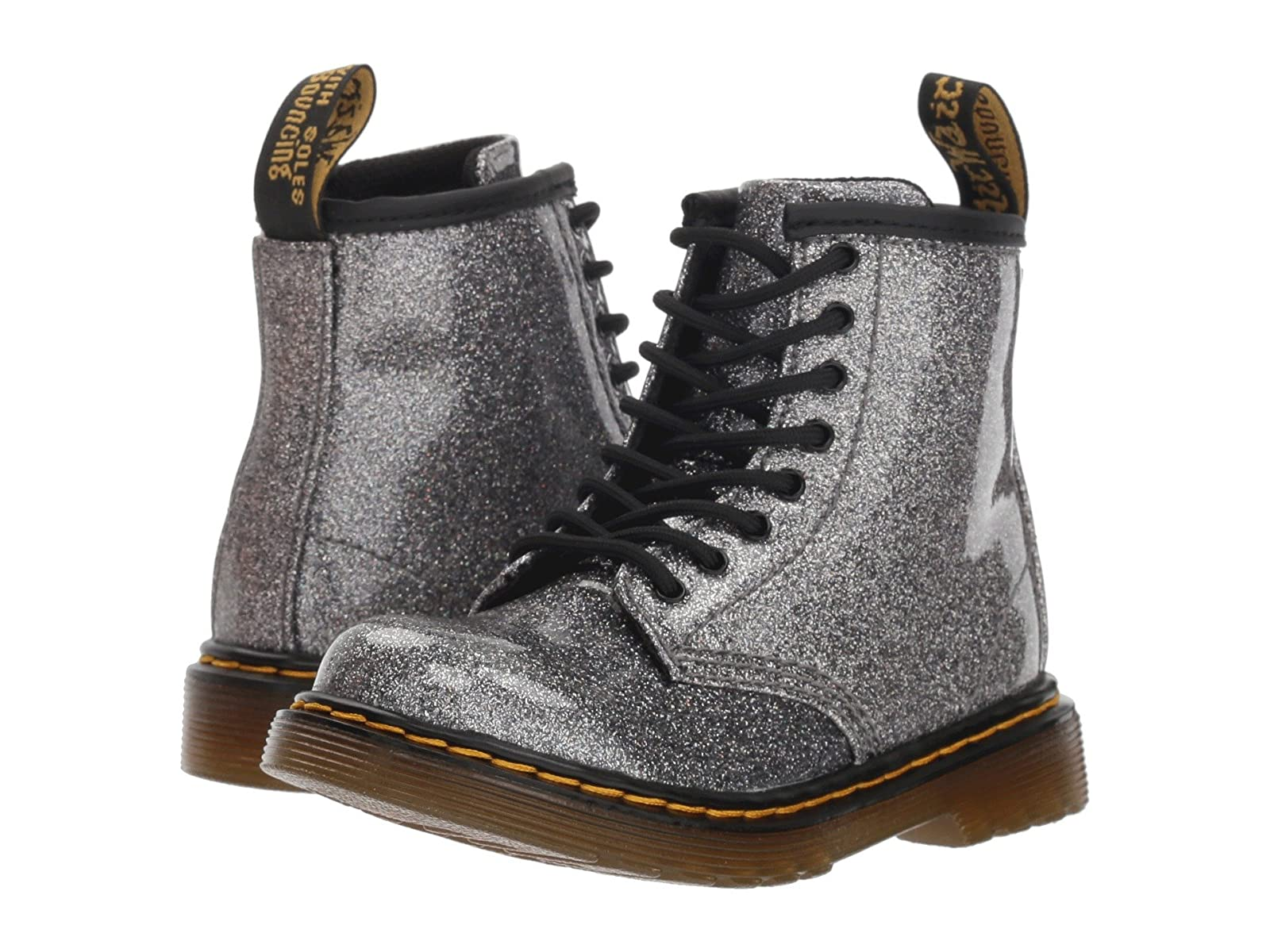 Dr. Martens Kid's Collection 1460 Patent Glitter Toddler Brooklee Boot (Toddler)Affordable and distinctive shoes