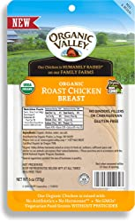 Organic Valley, Organic Sliced Roast Chicken Breast - 6 oz