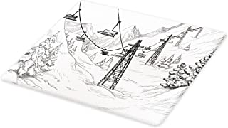 Best holiday glass cutting boards Reviews