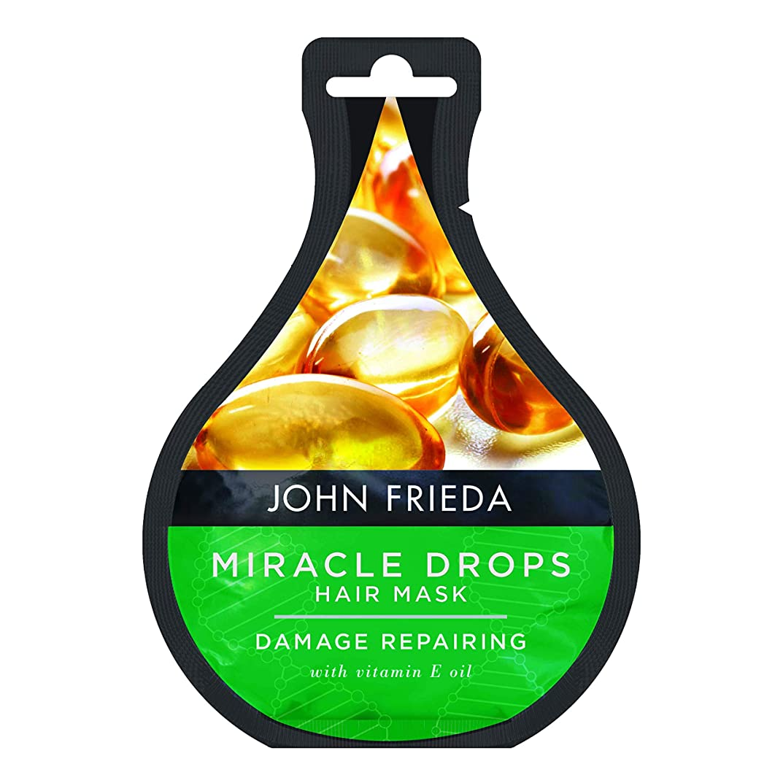 作動するカスタム怖がって死ぬJohn Frieda Miracleがダメージを受けた髪の毛の損傷を修復するヘアマスクを落とします。25 ml