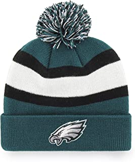 eeacd8ca OTS NFL Adult Men's NFL Rush Down Cuff Knit Cap with Pom