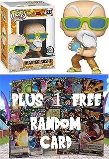 POP! Funko Dragonball Super: Max Power Master Roshi Specialty Series + 1 Random Dragonball Z Trading Card