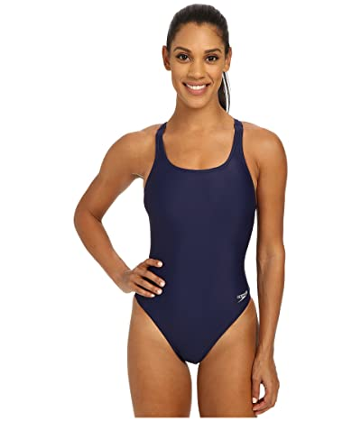 Speedo Solid Lycra(r) Superpro (Speedo Navy) Women