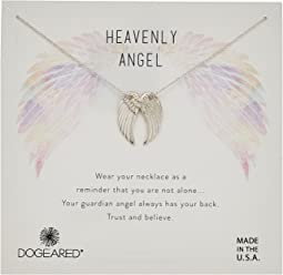 Heavenly Angel, Slide Through Angel Wing Necklace