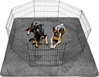 Dog Pee Pad Washable - Extra Large Instant Absorb Thicker Training Pads Non-Slip Pet Playpen Mat Waterproof Reusable Floor...