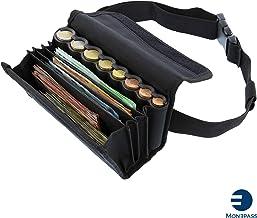 Gusti Cuir studio Pauline sac serveur /étui ceinture pochette serveur portefeuille serveur homme femme cuir de buffle noir 2A140-22-9 Sacoche de serveur