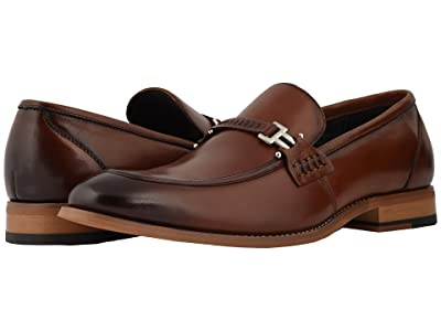 Stacy Adams Duval Slip On Penny Loafer (Cognac) Men