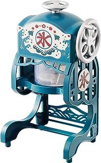 ドウシシャ 電動 かき氷 機 本格ふわふわ 氷かき器 ブルー 2017年 モデル DCSP-1751