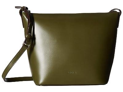 Lodis Accessories Audrey RFID Camilla Bucket Crossbody (Avocado/Berry) Cross Body Handbags