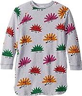 Stella McCartney Kids - Happy Hedgehogs Sweatshirt Dress (Toddler/Little Kids/Big Kids)