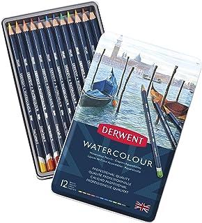 ダーウェント 水彩 色鉛筆 ウォーターカラーペンシル 12色セット 32881