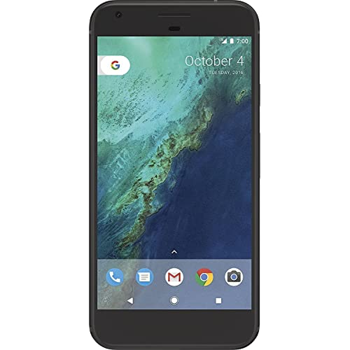 Google Pixel XL 128GB Unlocked GSM Phone w/ 12.3MP Camera - Quite Black (Renewed)