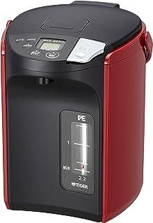 タイガー 電気ポット 2.2L 蒸気レス VE 電気 まほうびん とく子さん レッド PIP-A220-R