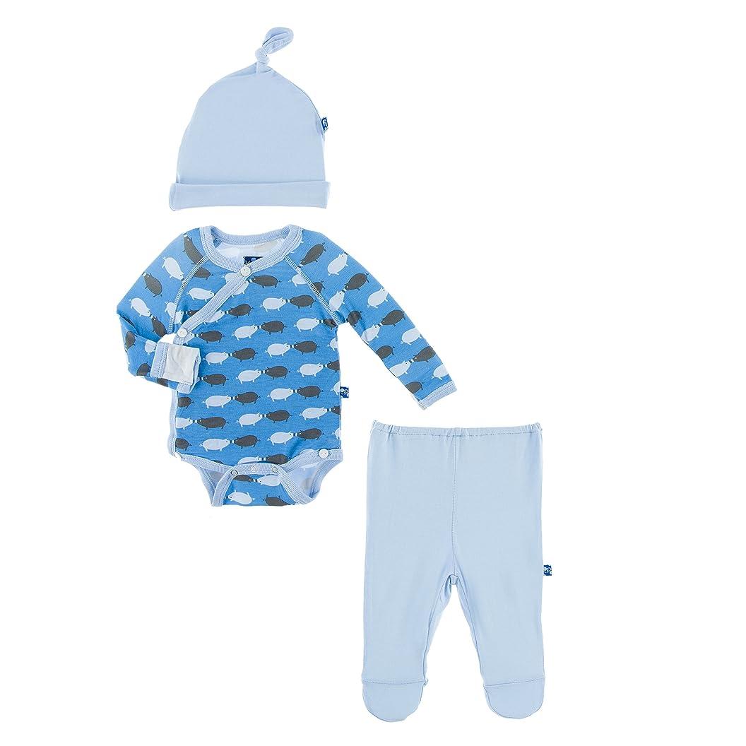 KicKee Pants Newborn Gift Set with Elephant Box, River Pig , 3 - 6 Months mwcmqavcxwu93