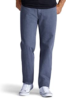 Lee Uniforms Men's Relaxed Fit Straight Leg Jeans