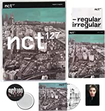 NCT 127 1st Album - NCT # 127 Regular-Irregular [ IRREGULAR ver. ] CD + Booklet + Lyrics Book + Photocard + FREE GIFT / K-...