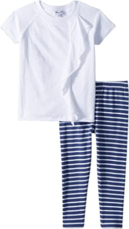Stripe Leggings Set (Toddler)