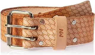 """McGuire-Nicholas 960-XL 44-54"""", 2"""" Saddle Leather Belt, Natural"""
