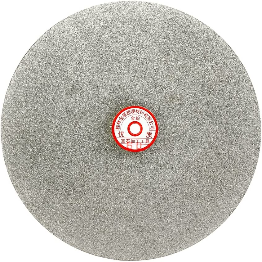 uxcell 300mm Ranking TOP1 12-inch Grit 60 Diamond Lap Flat Wheel Coated Classic Disk