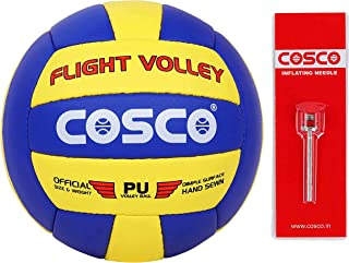 Cosco Unisex Adult Flight Volley Ball, Multi-Colour, 4