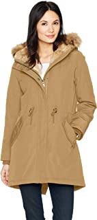 tan wool coat with hood