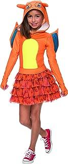 Rubie's Costume Pokemon Charizard Child Hooded Costume Dress Costume, Large