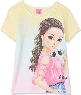Top Model niñas T-Shirt, Camiseta, Amarillo