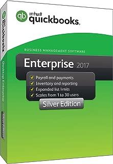 QuickBooks Enterprise 2017 Silver Edition, 5-User (1-year subscription)