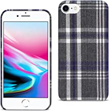 Reiko iPhone 8 Checked Fabric In Black